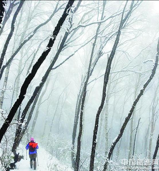 雪中五岳寨