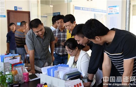 江西:昌九改扩建项目办举办试验检测专题培训班
