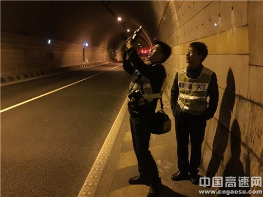 陕西省高速集团西略分公司积极探索隧道除湿新科技