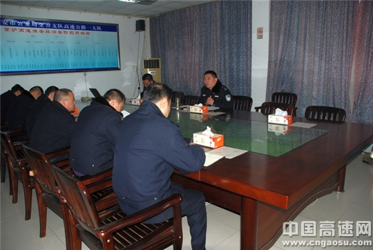 江苏:淮安交警不高速一大队多措并举加强雾霾天气交通管理