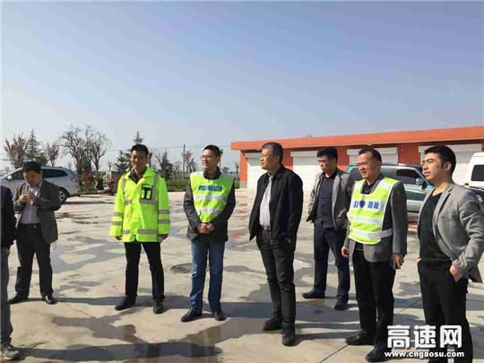 陕西省公路局检查指导铜旬高速第一季度道路养管工作