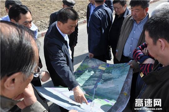 新疆交通运输厅领导深入哈密公路局巴里坤分局调研指导
