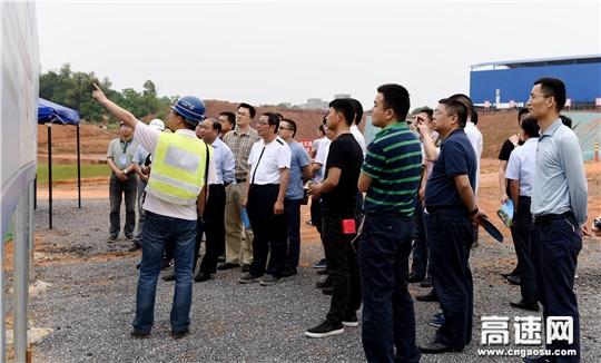 【理事资讯】四川高速公路建设开发总公司到江西昌九改扩建项目学习考察