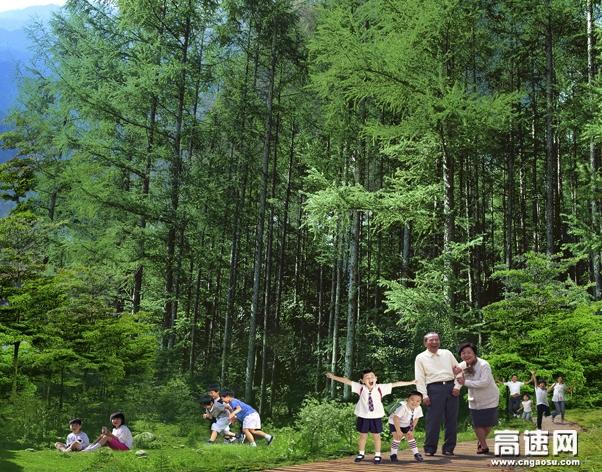 石家庄暑期避暑旅游圣地 带宝贝体验一下五岳寨夏季凉爽