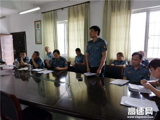江西:鹰潭高速路政一大队进行高速公路危化品运输交通事故应急施救处置演练