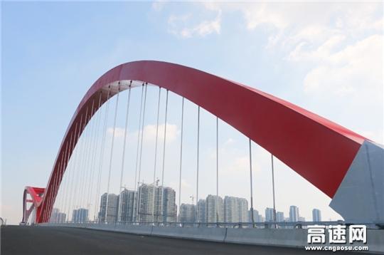 【理事资讯】中交一公局三公司南京中兴路北延跨秦淮新河大桥顺利完工