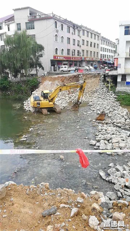 江西:安福南沙桥危桥改建工程全面开工