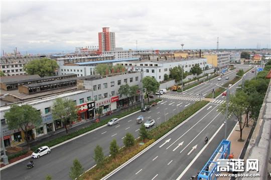 【理事资讯】中交一公局三公司忻州城区道改工程一标项目建成通车