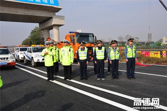 山东青莱高速潍坊路政管理大队联合多部门开展高速公路应急处置演练