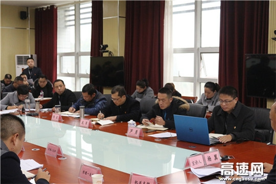 贵州高速集团遵义营运管理中心党委副书记、副主任杨翼宣讲党的十九大精神