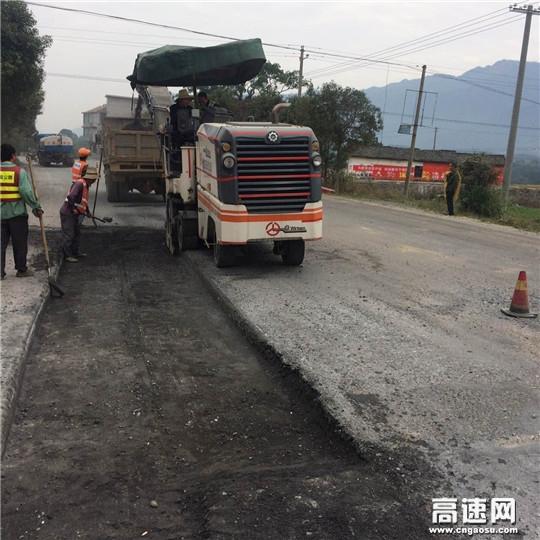 江西:安福县2017年养护大中修工程进展顺利