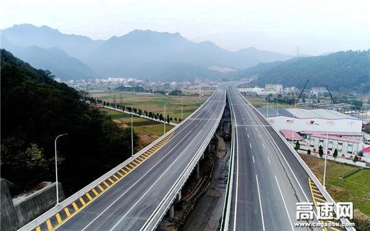 中交一公局温州绕城高速西南线工程顺利交工验收
