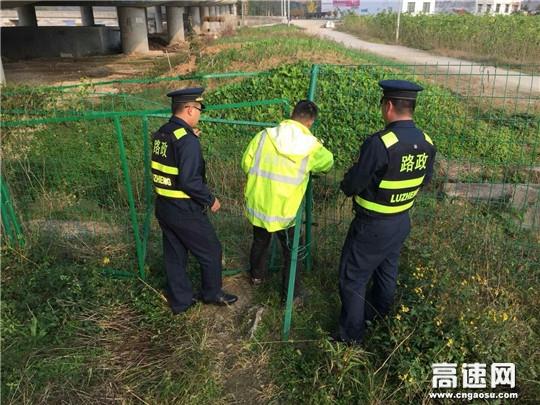 陕西高速集团西略分公司西乡管理所多管齐下开展节前路容路貌整治工作