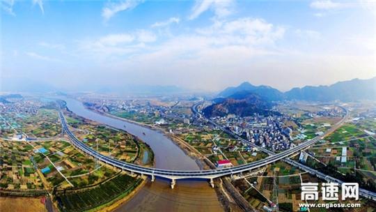 温州绕城高速公路西南线工程正式建成通车