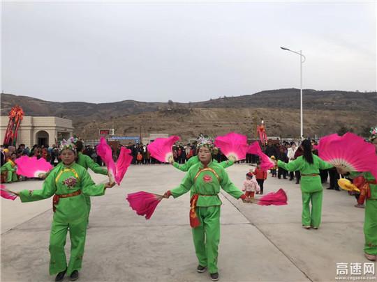 甘肃:渭源高速公路收费管理所喜迎元宵佳节