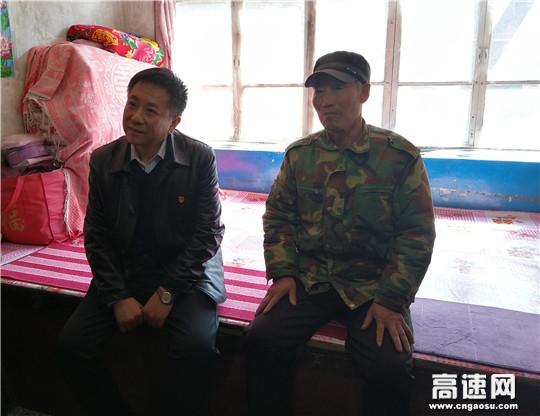 河北高速京秦处调研扶贫工作