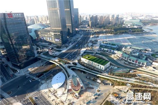 中交一公局承建的世界首座三维异形结构桥梁正式投入使用