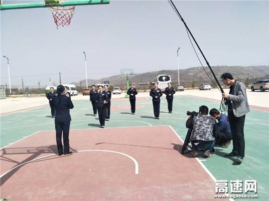 甘肃:庆城所微电影《无悔青春》正式开拍
