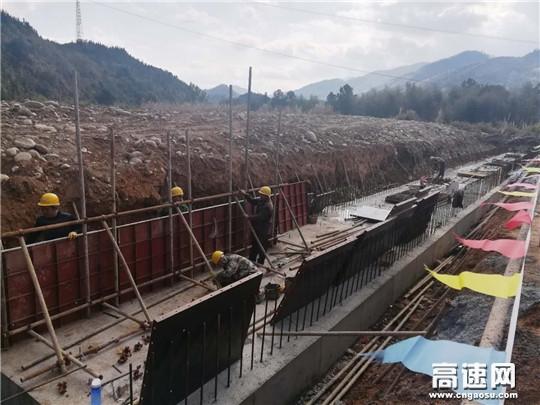 江西:安福县旅游快速通道假期奋战 确保重点工程