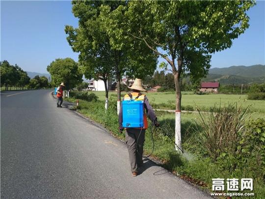 江西:安福公路分局春季养护进行时