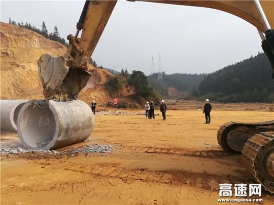 江西:安福县旅游快速通道工程项目部狠抓隐蔽性工程质量