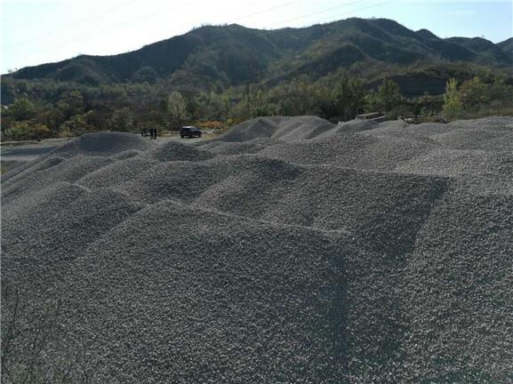承接赵县道路建设用透水混凝土专用石子,现货供应