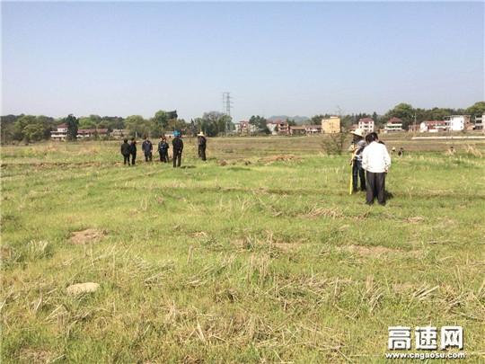江西安福县加快推进G322公路改建工程征地拆迁工作