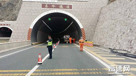 甘肃:古浪高速路政大队全力保障全省公路项目质量安全排查工作