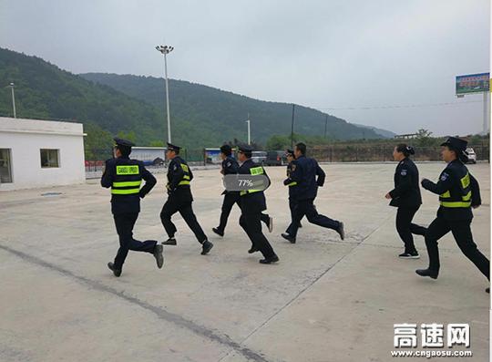 甘肃:太白主线收费站开展收费车道突发事件应急演练