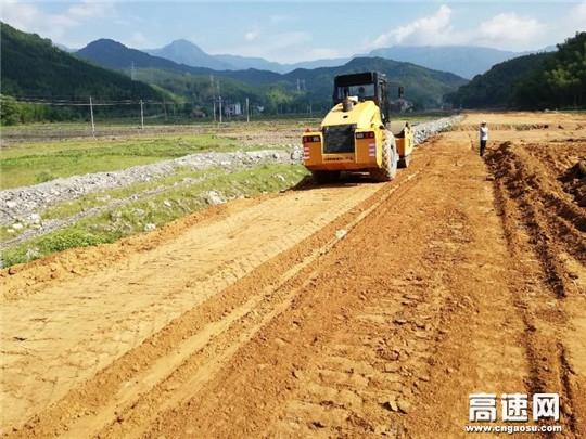 江西:安福县旅游快速通道项目多措并举全力推进工程建设