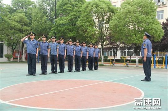 陕西高速集团汉宁路政大队加大力度备战路政治超比武竞赛活动