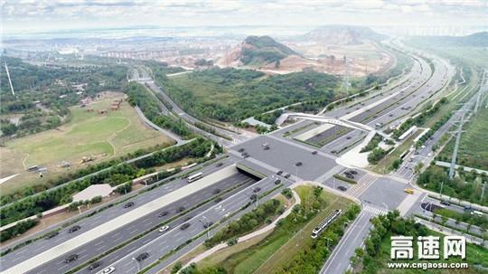 中交一公局二公司苏州太湖大道快速化改造工程正式开工建设