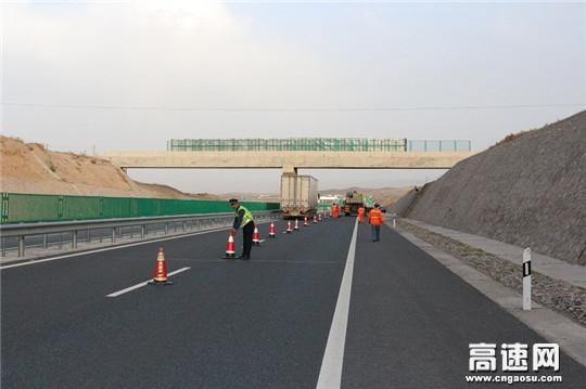 甘肃:古浪高速路政大队全面完成非公路标志牌规范整治任务