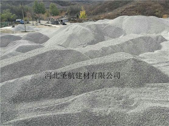 承接安新县道路建设用透水混凝土专用石子,现货供应