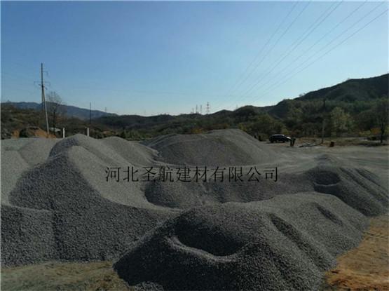 承接清苑海绵城市建设用透水混凝土石子骨料