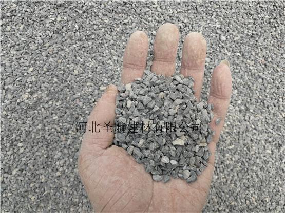 销售宣化街道建设用透水混凝土石子,宣化透水石子价格优惠
