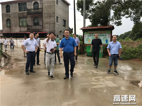 江西省公路局党委书记熊华武调研安福县连村扶贫项目