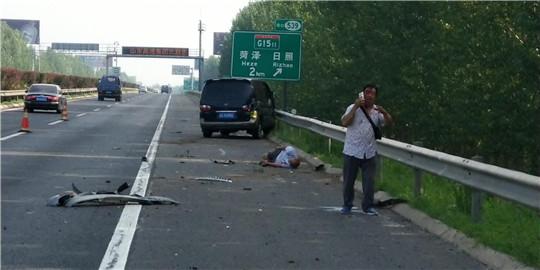 疲劳驾驶 高速路出意外