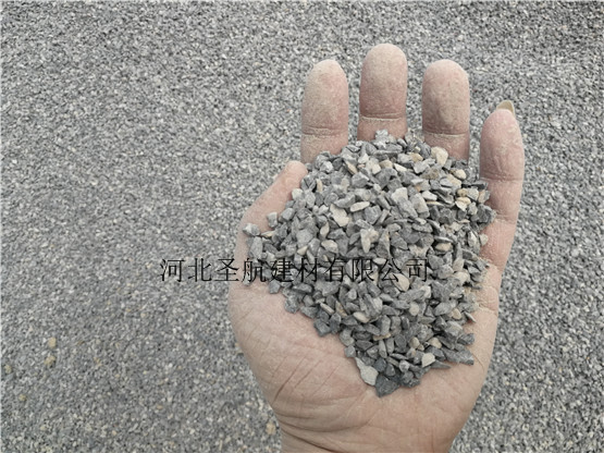 承接无极县道路建设用透水混凝土专用石子,现货供应