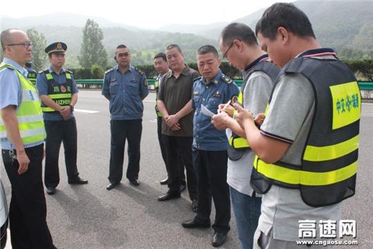 陕西高速黄陵管理所多项措施加强杜村立交分流点安全保畅工作