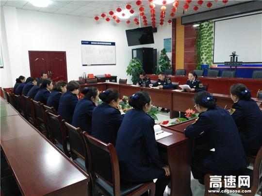 甘肃:西峰所庆阳南收费站开展国防教育日宣传活动