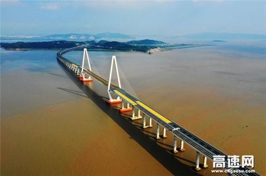 中交一公局集团乐清湾大桥正式建成通车