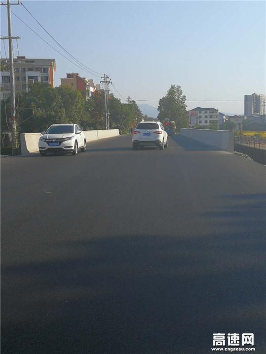 江西:G105线北港桥危桥改造工程顺利通车