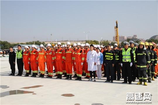 甘肃省应急救援中心成功举办全省高速公路清障救援业务培训及应急救援演练