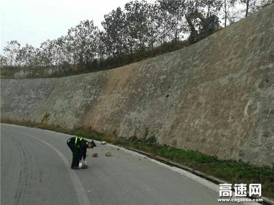 陕西高速黄陵路政中队开展道路施工施工收尾安全检查