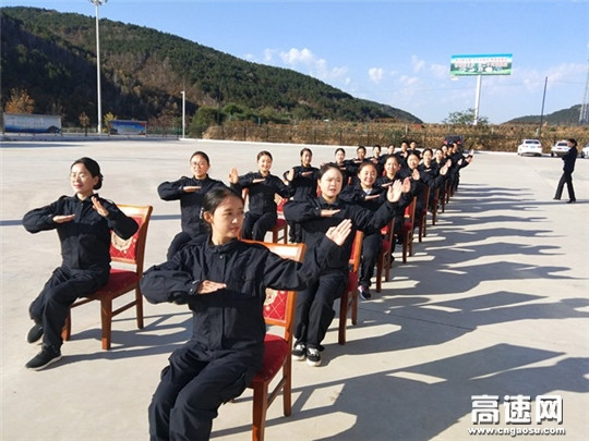 甘肃:庆城所太白主线收费站开展文明服务及 收费业务知识培训
