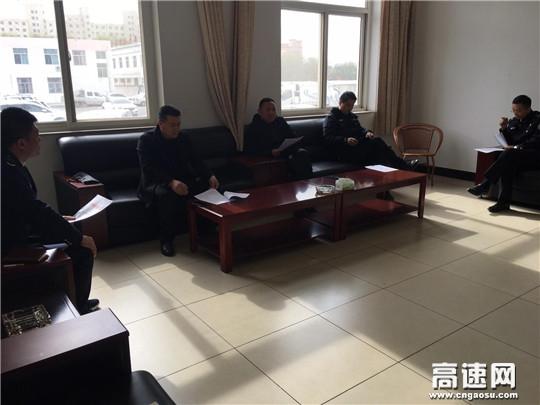 """甘肃:庆城所驿马收费站联合多单位做好""""非洲猪瘟疫情""""防控工作"""