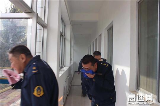 甘肃:古浪路政执法所开展消防演练提升应急能力