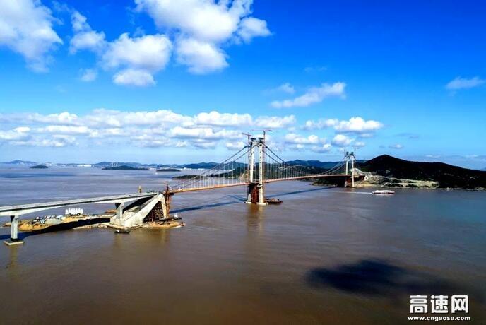 """中铁宝桥助力舟山拥抱""""大桥时代"""""""
