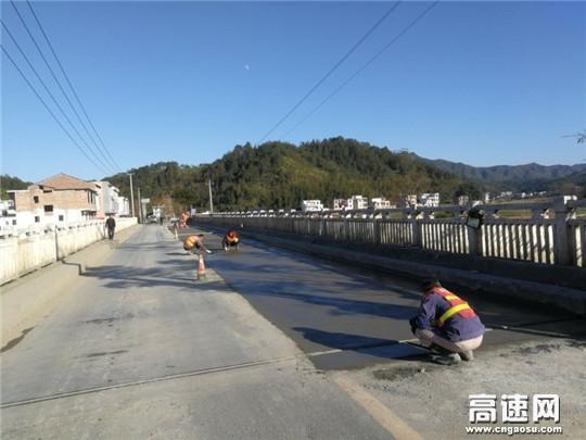 江西:遂川公路分局危桥整修加固工程全面完工